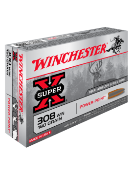 Winchester 308win 180grain Power point