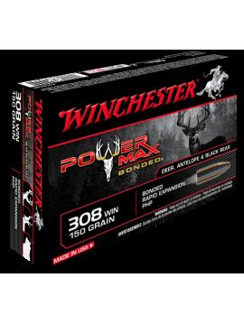 Winchester 308win 150grain Power Max Bonded