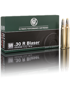 RWS 30R Blaser evolution 184grains