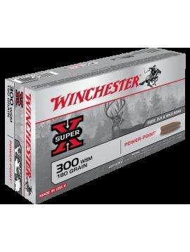 Winchester 300wsm 180grains power point