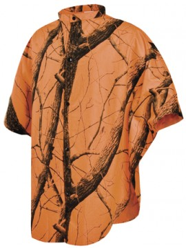 poncho de chasse coupe vent