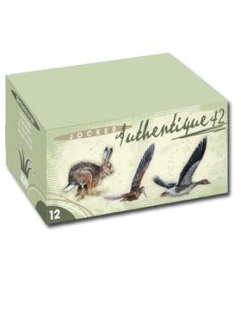 Cartouches authentique 42 JOCKER Calibre 12/70 42grs Bourre grasse