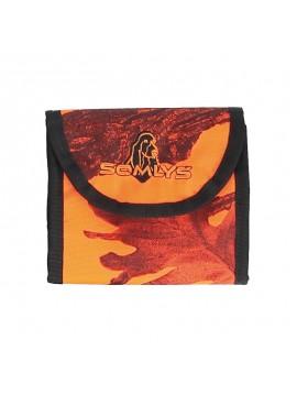 Pochette camouflage orange 600D SOMLYS