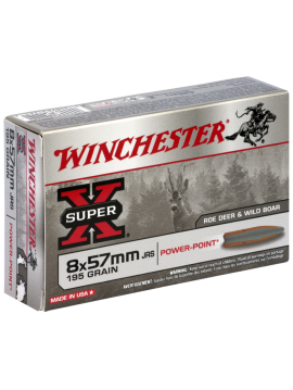 winchester 8x57jrs 195grains power point
