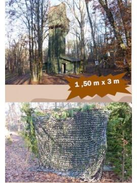 Filet de camouflage 1,50m x 3m