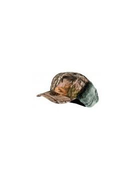 Casquette avec cache-oreilles fourrés camouflage 3DX