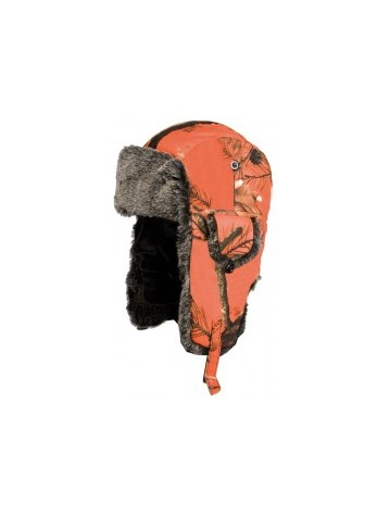 chapka camouflage orange somlys