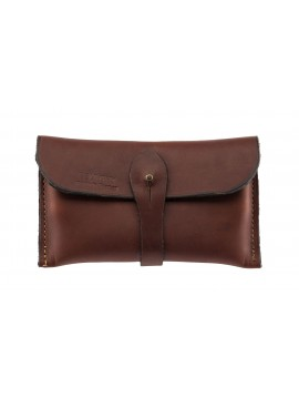 Pochette cuir gras Country Sellerie