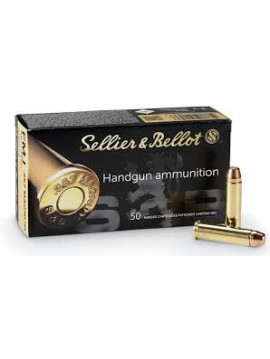 SELLIER BELLOT 357 MAG 158grs 10.25g FMJ