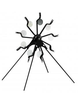 Cible rotative étoile pour arme cal 4.5 mm
