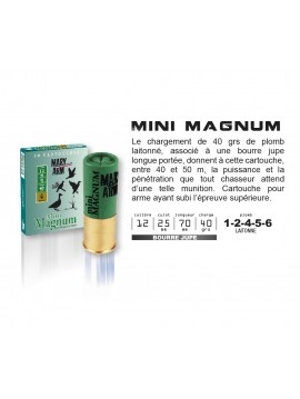 Cartouches MARY ARM MINI MAGNUM 12/70/40