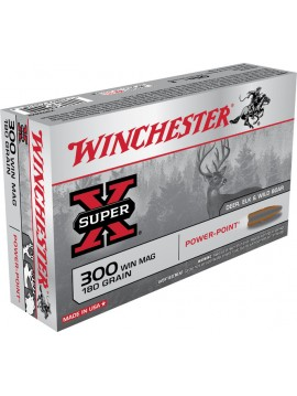 WINCHESTER 300 Win Mag 180grain Power-Point