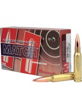Munitions HORNADY 308 WIN 178 GR BTHP MATCH Superformance