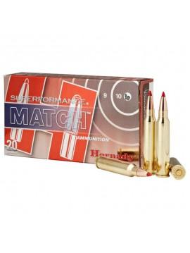 Munitions HORNADY 308WIN 168GR ELD MATCH Superformance