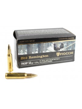 Munitions FIOCCHI HP50 222REM FMJ 50grains