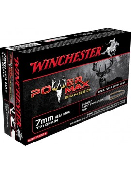 WINCHESTER 7REM POWER MAX BONDED 9.72g 150GR