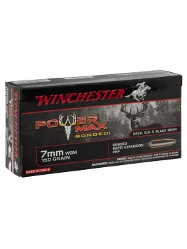 WINCHESTER 7WSM 150GR POWER MAX BONDED