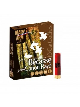 Cartouches MARY ARM Bécasse canon rayé 12/16/70 33GR N°9