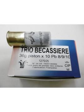 Cartouches JOKER TRIO BECASSIERE 12/70 36 N°8/9/10 X10
