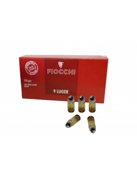 Munitions FIOCCHI 9x19MM  FMJ - 123GRS x500