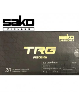 Sako - Munitions 6.5 Creedmoor TRG HPBT 136gr 160 H