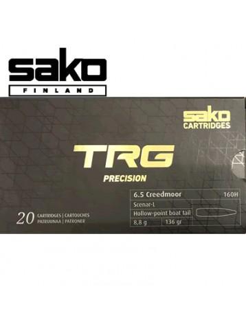 Sako - Munitions 6.5 Creedmoor TRG HPBT 136gr 160 H