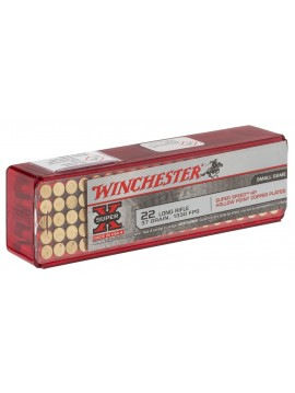 Munitions WINCHESTER Super X Hollow point Calibre 22lr  X100
