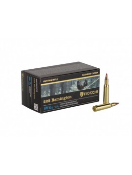 Munitions FIOCCHI HP50 222REM EPN 50grains