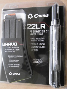 CMMG KIT BRAVO CONVERSION 22LR AR15 + 1 CHARGEURS 25 CPS