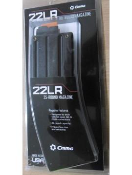CMMG Chargeur cal.22LR 25cps pour KIT BRAVO CONVERSION 22LR AR15