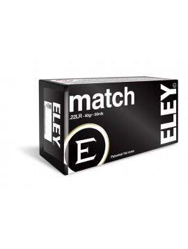 CARTOUCHES  ELEY MATCH  CAL. 22 LR X50
