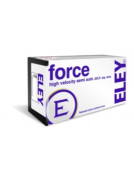 CARTOUCHES ELEY FORCE CAL. 22 LR X50
