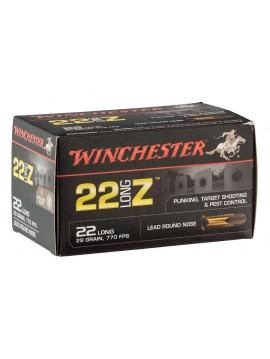 Munitions WINCHESTER 22 Long Z Calibre 22lr