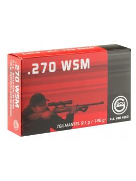 Munitions GECO 270WSM DEMI BLINDEE 9.1GR 140GRS