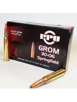 munitions PRVI PARTIZAN 30-06 sprg 170grains 11.0g GROM