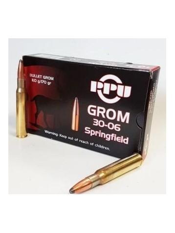 munitions PRVI PARTIZAN 30-06 sprg 170grains 11.0g GROM