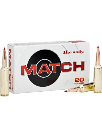 Munitions HORNADY 6.5 CREEDMOOR 147 GR ELD MATCH