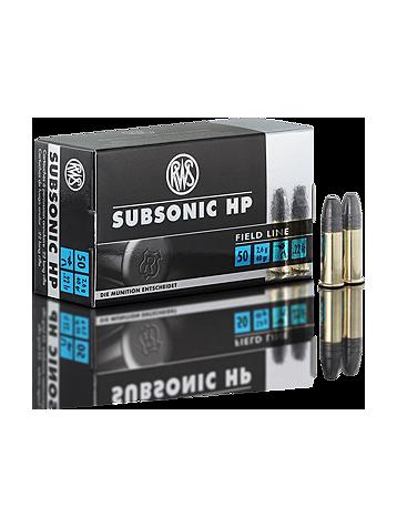 RWS 22lr Subsonic HP Field Line