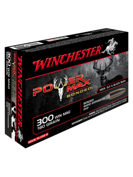 WINCHESTER 300 Win Mag 180grainpower max bonded
