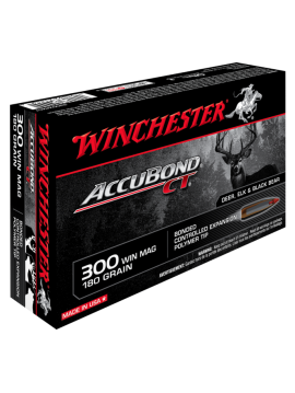 WINCHESTER 300 Win Mag 180grain accubond ct