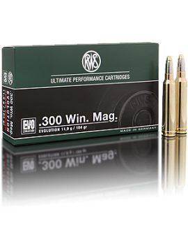 RWS 300 Win Mag 184grain Evolution