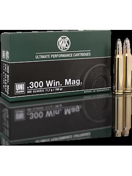 RWS 300 Win Mag 180grain Uni classic